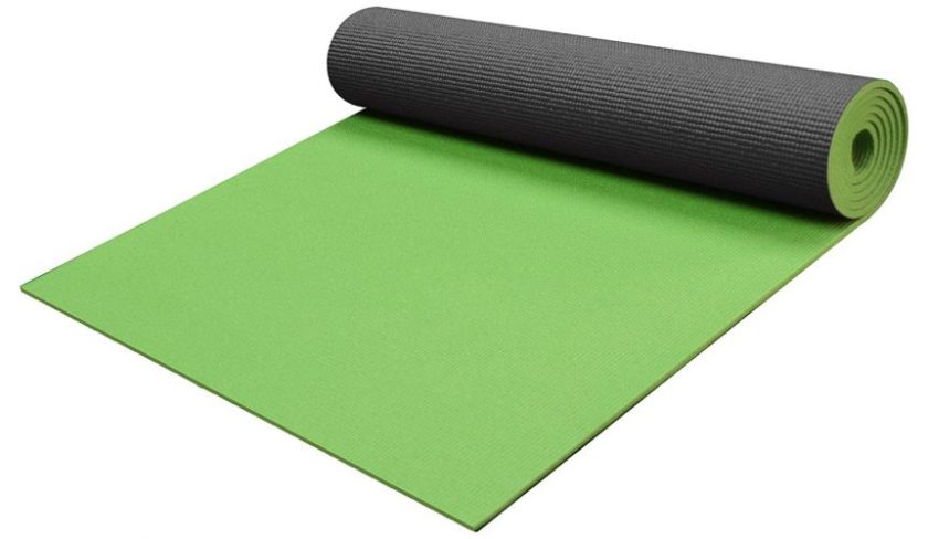 """YogaAccessories 1/4"""" Thick High Density Deluxe Non Slip Exercise Pilates & Yoga Mat"""