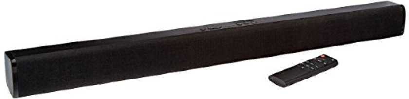 AmazonBasics 2.0 Channel Bluetooth Sound Bar - Bluetooth Soundbars