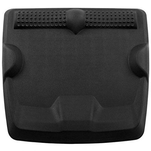 Ergohead Standing Desk Mat - Not-Flat Anti Fatigue Mat For Stand Up Desk, Ergonomically Engineered, Black - Anti-Fatigue Mats