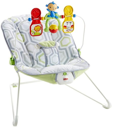 Fisher-Price Baby's Bouncer, Geo Meadow - Baby Bouncer