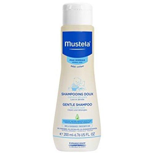 Mustela Gentle Shampoo, Tear Free Baby Shampoo with Natural Avocado Perseose - Baby Shampoos