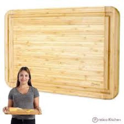 Pratico Kitchen Bamboo Cutting Board - Bamboo Cutting Boards