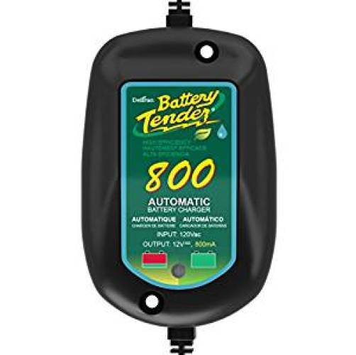 Battery Tender 800 is a Super Smart Battery Charger that will constantly Monitor, Charge, and maintain your Battery. It is Encapsulated and Protected from Moisture by an Electrical Insulation - Battery Tenders