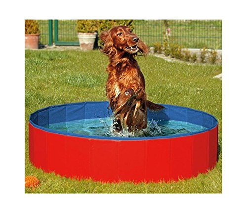 FurryFriends Foldable Dog Pool - Folding Dog / Cat Bath Tub - Collapsible Pet Spa Whelping Box Christmas Gift - dog pools