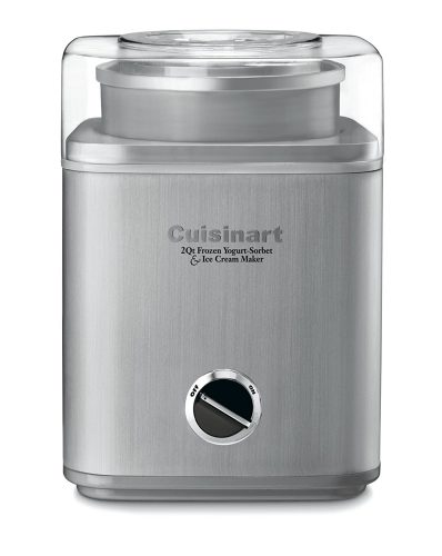 Cuisinart ICE-30BC Pure Indulgence 2-Quart Automatic Frozen Yogurt, Sorbet, and Ice Cream Maker - yogurt maker
