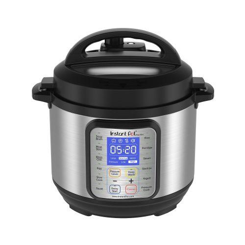Instant Pot DUO Plus 3 Qt 9-in-1 Multi- Use Programmable Pressure Cooker, Slow Cooker, Rice Cooker, Yogurt Maker, Egg Cooker, Sauté, Steamer, Warmer, and Sterilizer - yogurt maker