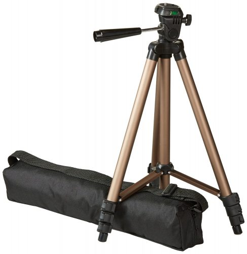 AmazonBasics 50-Inch Lightweight Tripod with Bag - DSLR camera tripods