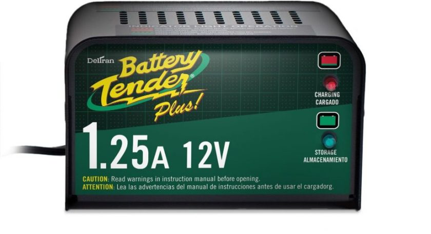 Battery Tender Plus 021-0128, 1.25 Amp Battery Charger is a Smart Charger, it will fully Charge and Maintain a Battery at Proper Storage Voltage without the Damaging Effects Caused by Trickle Chargers - Car Battery Chargers