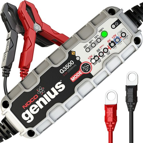 NOCO Genius G3500 6V/12V 3.5A Ultra Safe Smart Battery Charger - Car Battery Chargers