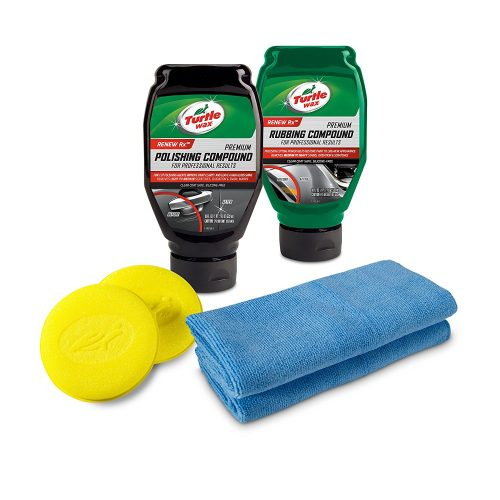 Turtle Wax 50734 Complete 6-Piece Compound, Polishing & Scratch Kit.- Owing car scratch removers