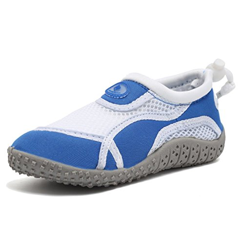 CIOR FANTINY Boy & Girls' Water Aqua Shoes Swimming Pool Beach Sports Quick Drying Shoes (Toddler/Little Kid/Big Kid) - Cycling Shoes for Kids