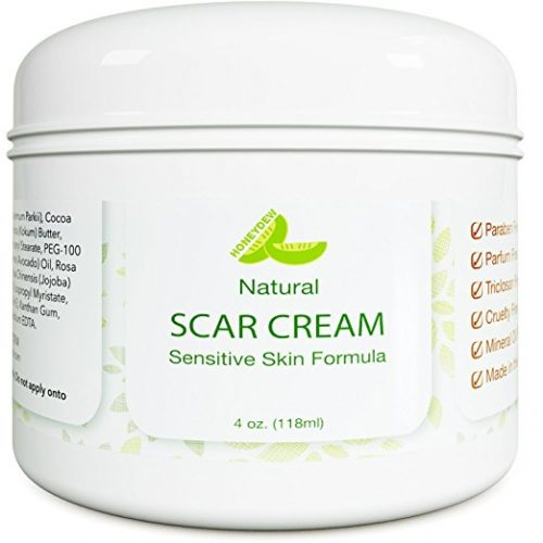Best Scar Cream for Face - Vitamin E Oil for Skin After Surgery - Stretch Mark Remover for Men & Women - Anti Aging Lotion - Acne Scar Removal for Old Scars on Body - Scar Treatment for Cuts - Stretch Mark Removal Creams