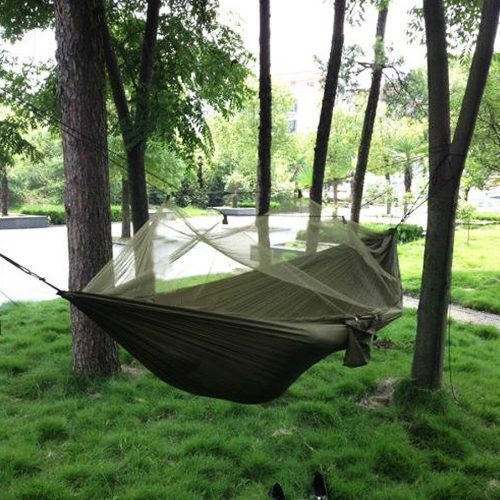 Camping Hammock with Mosquito Net - Hammocks With Mosquito Net