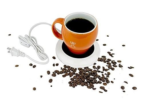 Desktop heated coffee/tea mug warmer - candle & wax warmer