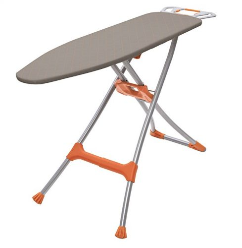 """Homz Durabilt DX1500 Premium Steel Top Ironing Board with Wide Leg Stability, Adjustable up to 39.5"""" - Ironing Boards"""