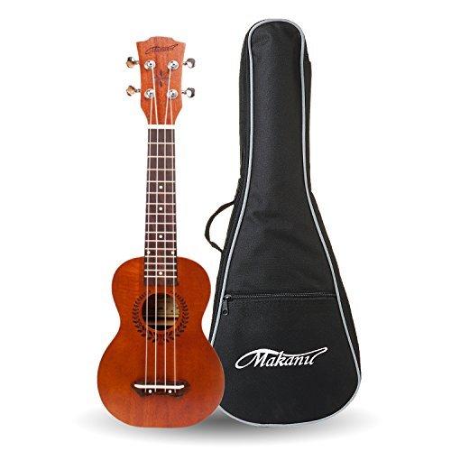 Makanu Professional ukulele Soprano Ukulele Mahogany Hawaiian Ukulele - Matte Finish
