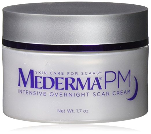 Mederma PM Intensive Overnight Scar Cream - Works with Skin's Nighttime Regenerative Activity - Once-Nightly Application Is Clinically Shown to Make Scars Smaller & Less Visible- 1.7 ounce - Scar Gels