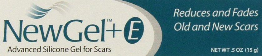 NewGel+E Advanced Silicone Gel for Scars - 15 grams - Scar Gels