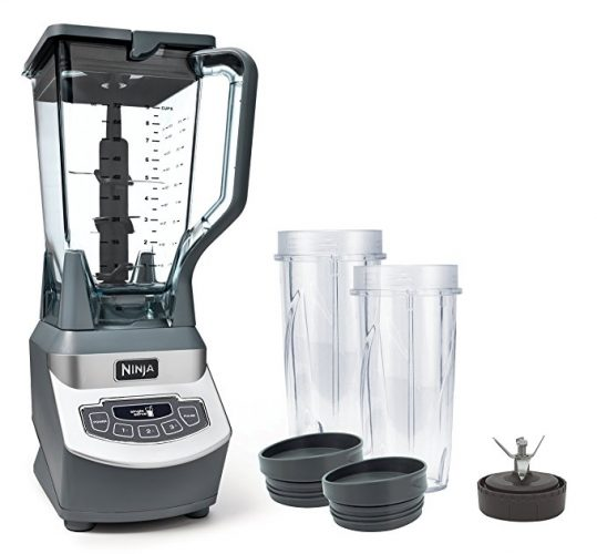 Ninja Professional Blender with Nutri Ninja Cups (BL660) - Smoothie Blenders