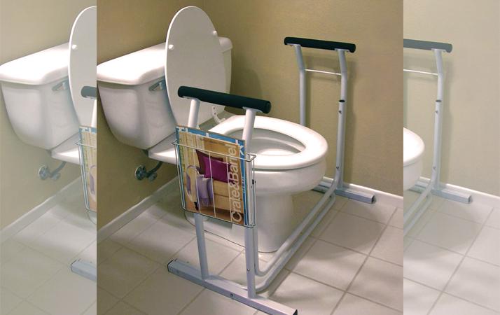 Toilet Safety Frames & Rails