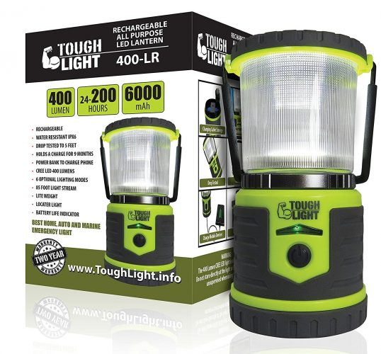Tough Light LED Rechargeable Lantern - LED Chargeable Lanterns