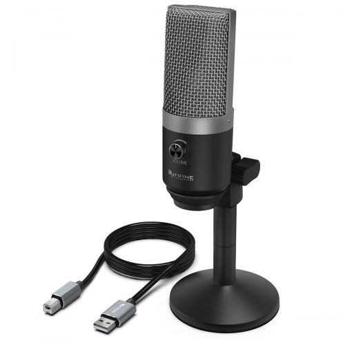 USB Microphone, FIFINE PC Microphone for Mac and Windows Computers, Optimized