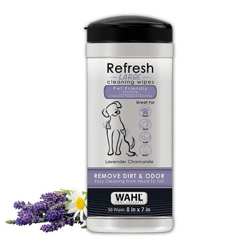 Wahl Dog/Pet Refresh Cleaning Wipes - Dog Deodorants