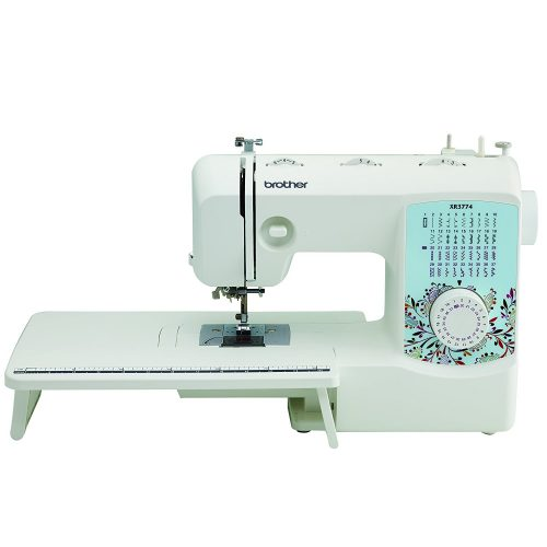 Brother XR3774 Full-Featured Sewing and Quilting Machine with 37 Stitches, 8 Sewing Feet, Wide Table, and Instructional DVD - Sewing Machines