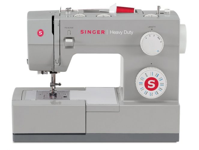 SINGER | Heavy Duty 4423 Sewing Machine with 23 Built-In Stitches -12 Decorative Stitches, 60% Stronger Motor & Automatic Needle Threader, Perfect for Sewing all Types of Fabrics with Ease - Sewing Machines