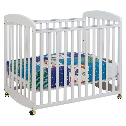 DaVinci Alpha Mini Rocking Crib – White