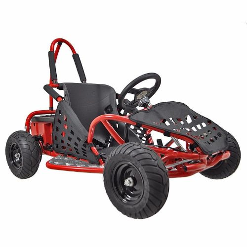 XtremepowerUS Gas Off Road Go Kart 2.5HP 80cc 4 Stroke, EPA Approval, Red - Off Road Go Karts