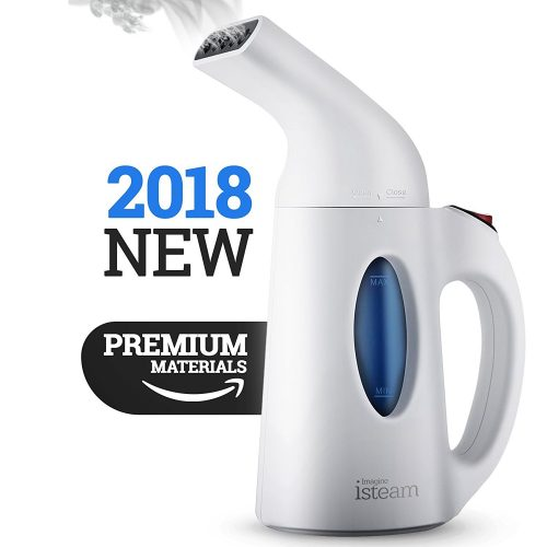 Steamer For Clothes, Handheld Clothes Steamers.4-in-1 Powerful Steamer Wrinkle Remover. Clean, Sterilize and Steamer Garment and Soft Fabric. Portable, Compact-Travel/Home.Ultrafast-100% Safe – isteam - Handheld Fabric Steamers