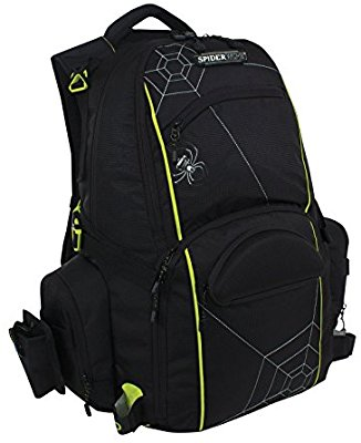 Spiderwire Fishing Tackle Backpack W/ 3 Medium Utility Boxes SPB006 - Fishing Backpacks & Bags