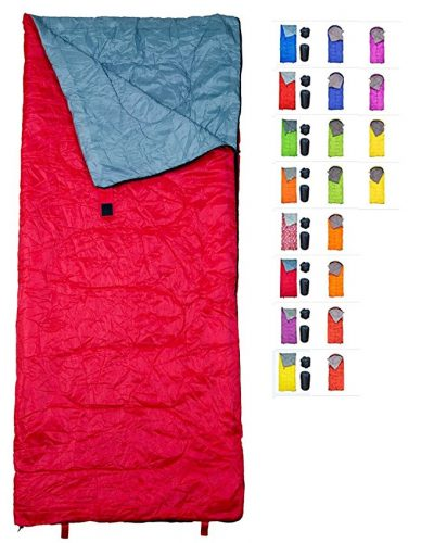 """""""RevalCamp Sleeping Bag for Indoor & Outdoor Use. Great for Kids, Boys, Girls, Teens & Adults. Ultralight and compact bags are perfect for hiking, backpacking & camping"""" - Sleeping Bags"""