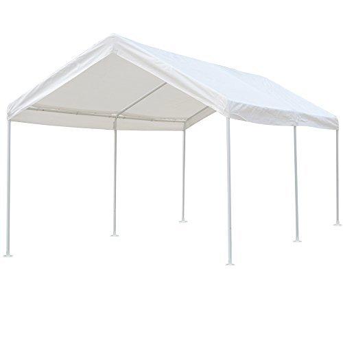 Snail 10 X 20 ft Heavy Duty All-Purpose Waterproof Outdoor Domain Carports Portable Auto Car Canopy Garden Instant Shelter