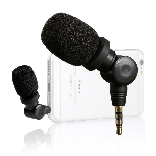 Saramonic SmartMic Mini Flexible Condenser Microphone with High Sensitivity for Apple IOS iPhone 8 8x 8 plus 7 7 plus 6 6s 5 5s iPad Smartphones