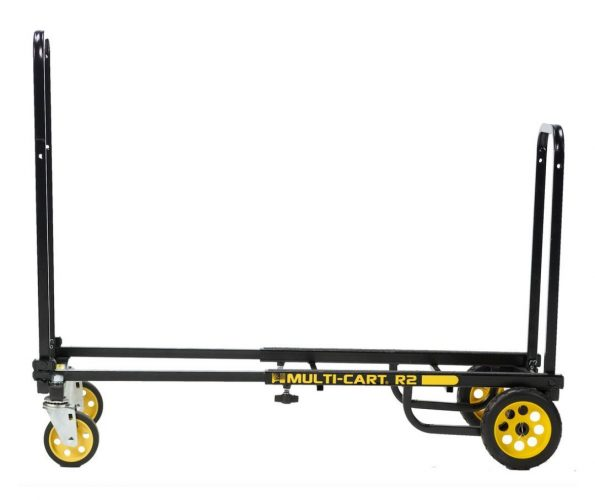 """Rock-N-Roller R2RT (Micro) 8-in-1 Folding Multicart / Hand Truck / Dolly / Platform Cart / 26"""" to 39"""" Telescoping Frame Load Capacity 350 lbs."""