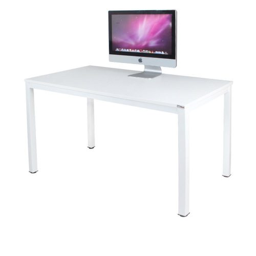 "Need Computer Desk 47"" Computer Table with BIFMA Certification Writing Desk Workstation Office Desk, White AC3DW-120 - Study Tables"