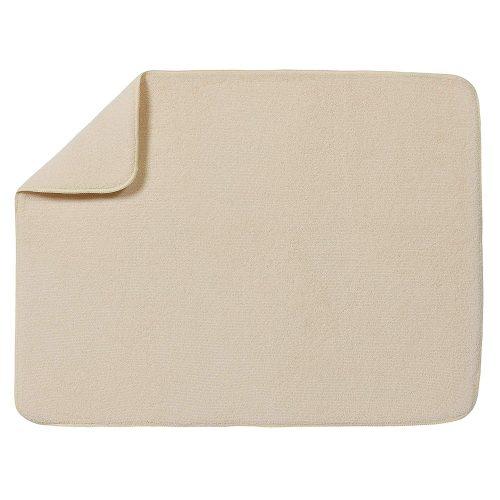 "Kitchen Basics XL Microfiber Dish Drying Mat - 18""x24"" - Cream"