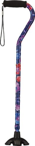 NOVA Sugarcane with Offset Handle, Maui Flowers - Quad Canes