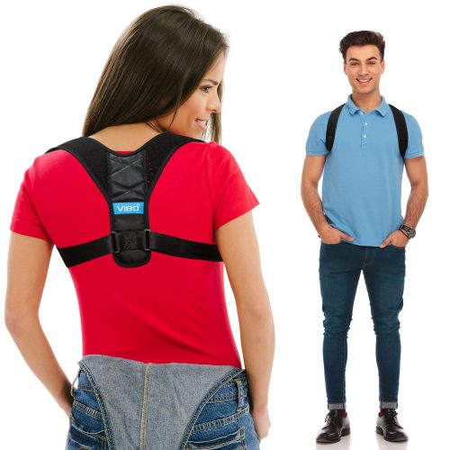 Posture Corrector for Men and Women - Comfortable Upper Back Brace Clavicle Support Device for Thoracic Kyphosis and Shoulder - Neck Pain Relief - FDA APPROVED - Posture Braces For Men And Women