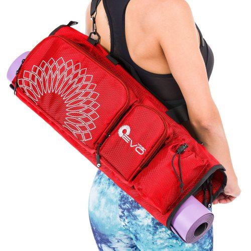 Yoga EVO Open end Yoga Mat Bag 5 Pockets