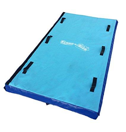 FLOAT-N-SLED – Swim Raft that Never Deflates, Pool Raft, River Raft, Camping Mat, Snow Sled and Pet-Friendly
