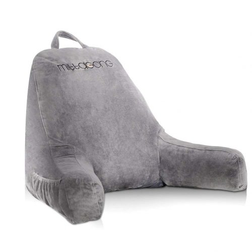 mittaGonG Backrest Reading Pillows with Arms Removable Cover