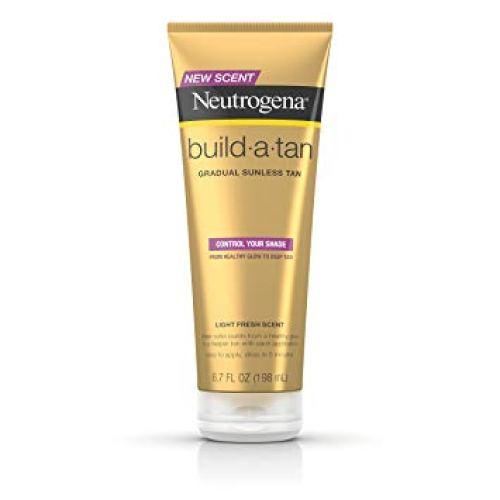 Neutrogena Build-A-Tan Gradual Sunless Tanning Lotion, 6.7 fl. oz. - Tanning Bed Lotions
