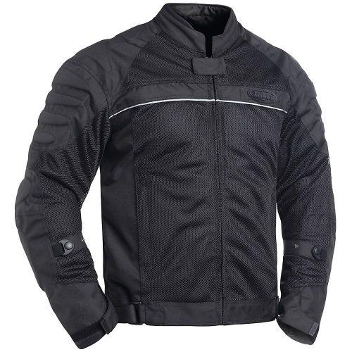 BILT Blaze Mesh Motorcycle Jacket - LG, Black