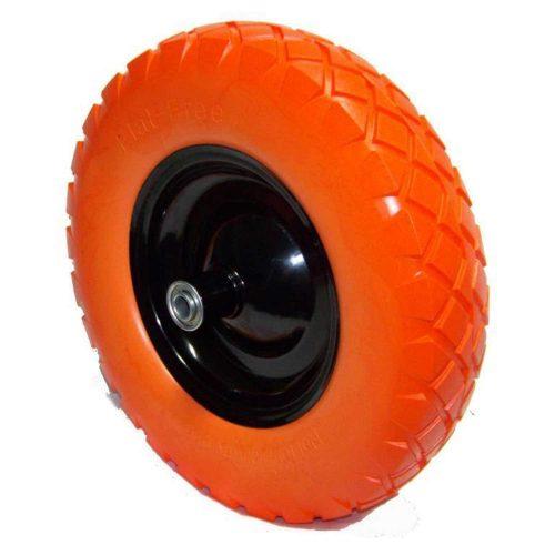 """16"""" Flat-free Wheel Barrow Flat Free Tire Foamed Polyurethane Wheelbarrow Tire - Wheelbarrow Wheels"""