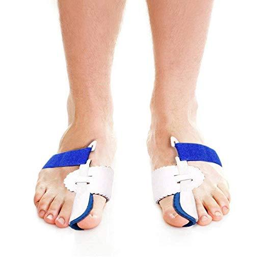 Bunion Corrector, Bunion Corrector & Bunion Relief Protector Kit, Toe Spacers Alignment Straightener Splint Treat Pain in Hallux Valgus, Tailors Bunion, Big Toe Joint, Hammer Toe (2 PCS)