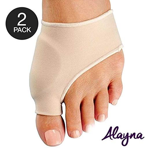 Bunion Corrector and Bunion Relief Sleeve with Gel Bunion Pads Cushion Splint Orthopedic Bunion Protector for Men and Women – Hallux Valgus Corrector Bunion Bootie Guard - Stop Bunion Pain (2 PCS)
