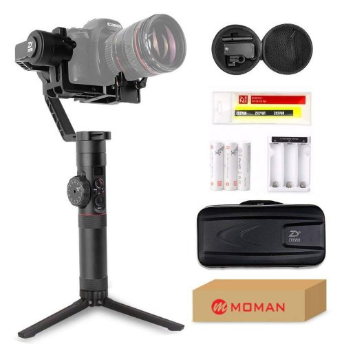 Zhiyun Crane 2 (Limited Servo Follow Focus Controller included) 3-Axis Gimbal Stabilizer for DSLR Camera up to 7 Lb